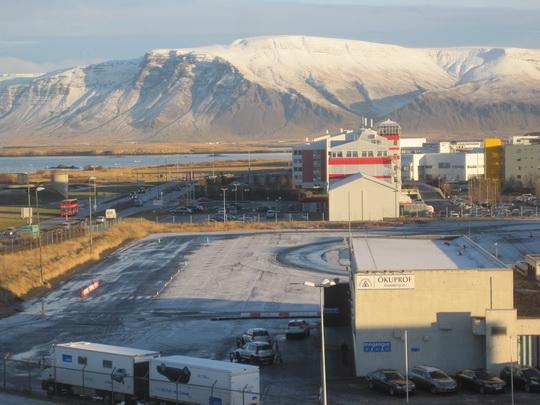 Fiordas Reykjavik