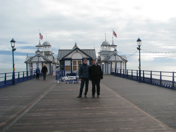 On the pier Eastbourne