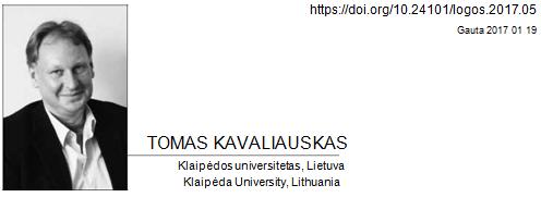Prof. Kavaliauskas