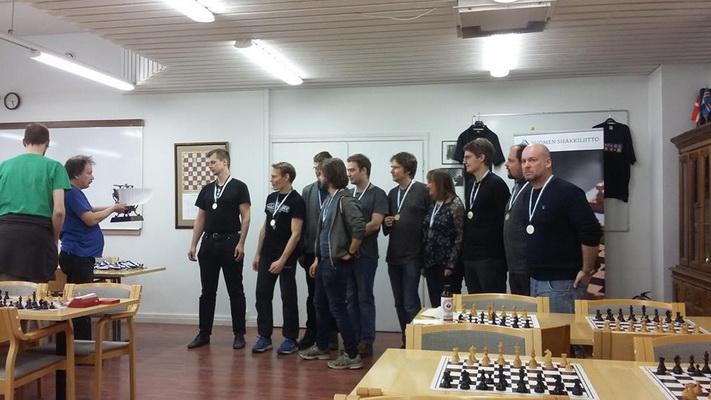 Suomija 2018-19 Champions