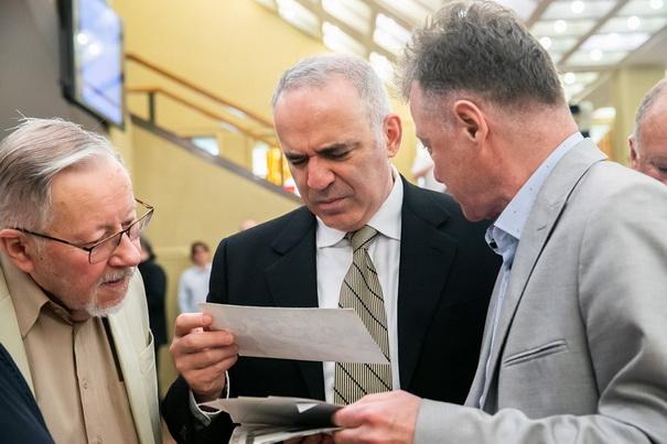 V.Landsbergis ir G.Kasparov 2019
